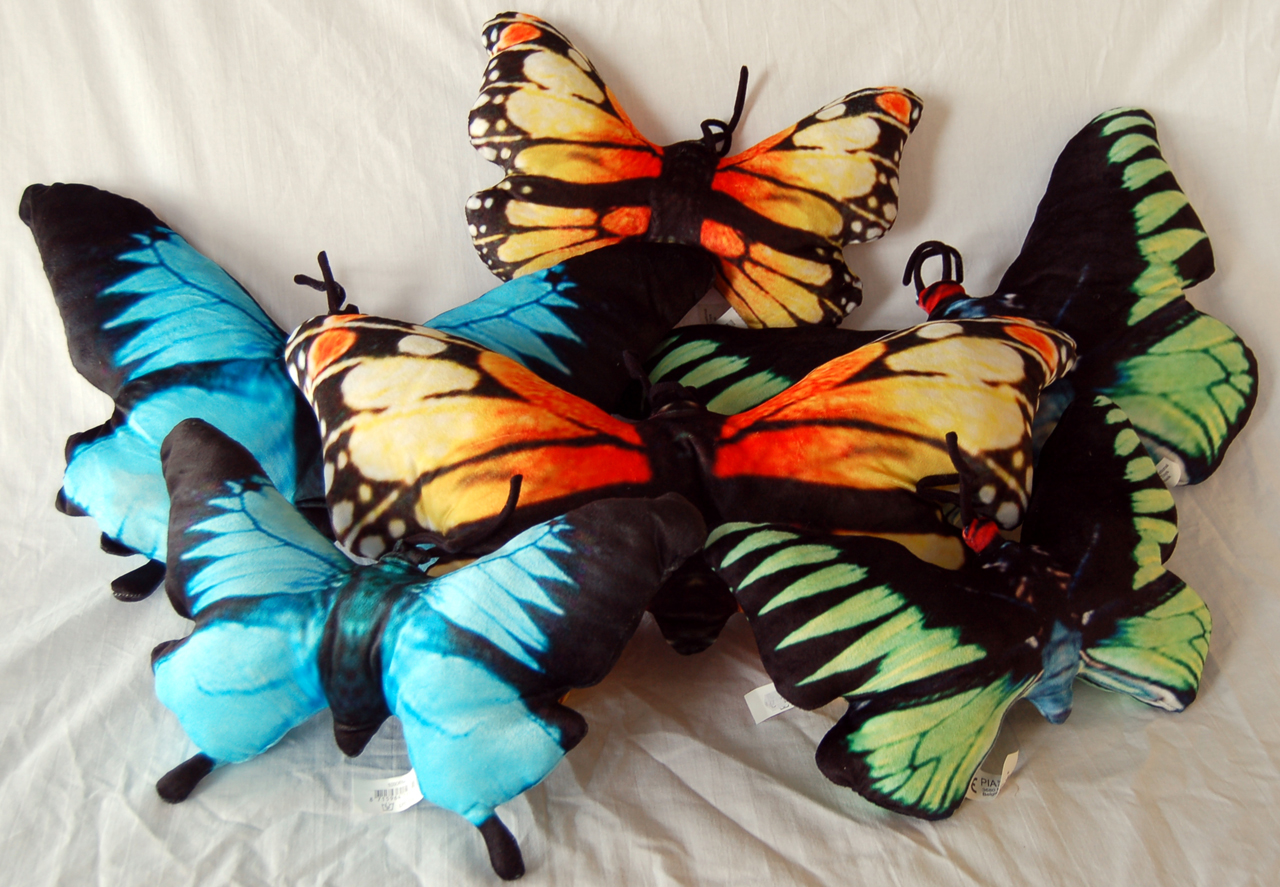 Vlinderkussentjes